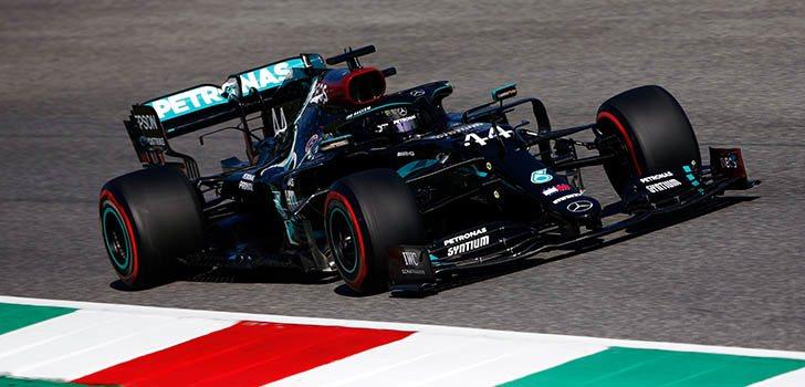Nueva primera línea de Mercedes, ahora en Mugello