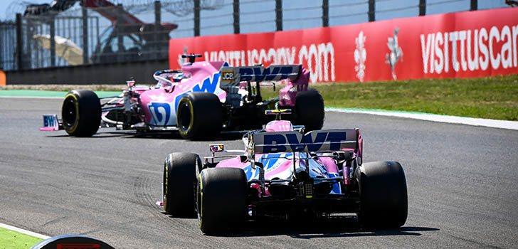 Los Racing Point podían haber subido al podio en Mugello, pero esa oportunidad desapareció