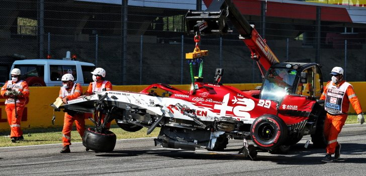 accidente mugello 2020