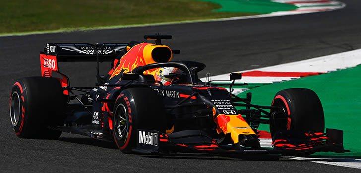Honda analizará el motor de Max Verstappen tras su percance en la salida de la carrera de Mugello
