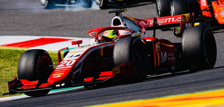 Mick Schumacher en Monza 2020