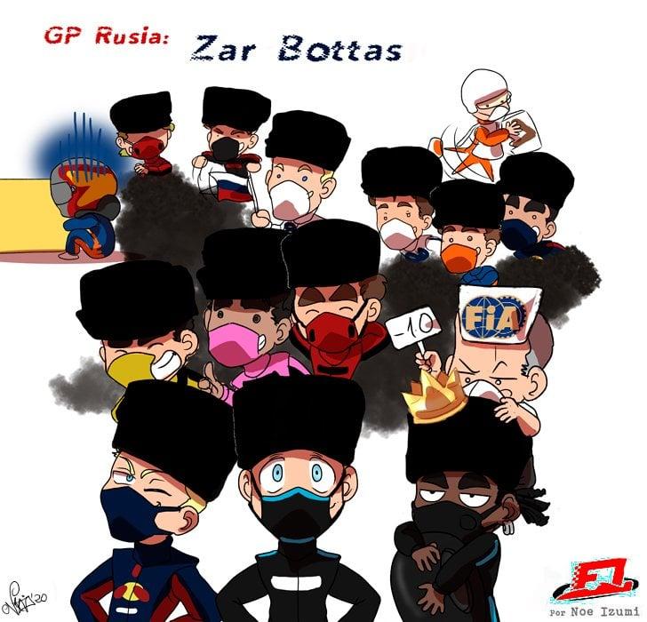 Los Chibis (303): Zar Bottas