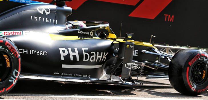 Daniel Ricciardo, satisfecho por la evolución de Renault