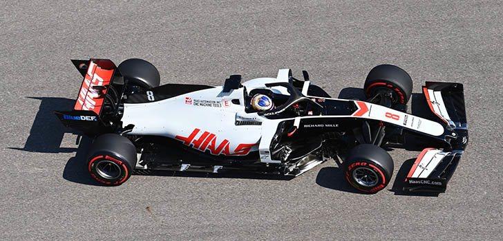 Romain Grosjean, frustrado por ver que este año irá a menos