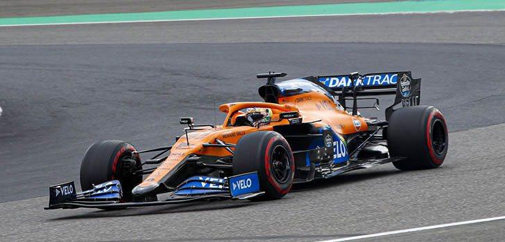 Carlos Sainz, medianamente conforme con el resultado de la carrera en Nürburgring