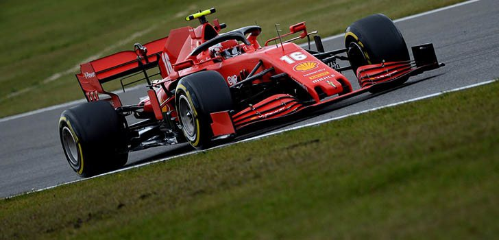 Charles Leclerc ha salvado los muebles de Ferrari una vez más en Nürburgring
