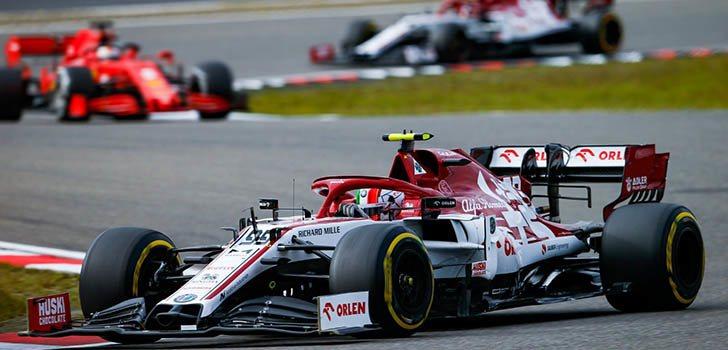 Antonio Giovinazzi puntúa en la carrera de Nürburgring