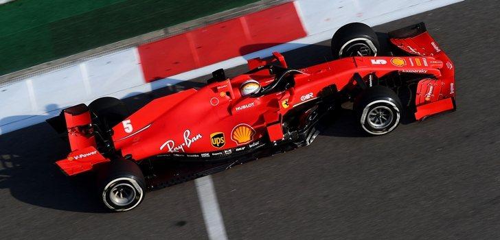 Vettel, en el GP de Rusia 2020