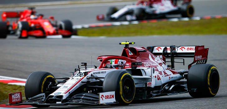 Los puntos en Alemania fueron positivos para afrontar Portimao para Alfa Romeo