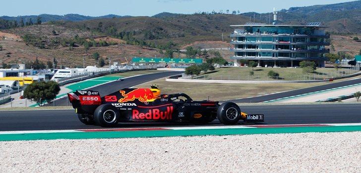 Albon, en los Libres del GP de Portugal