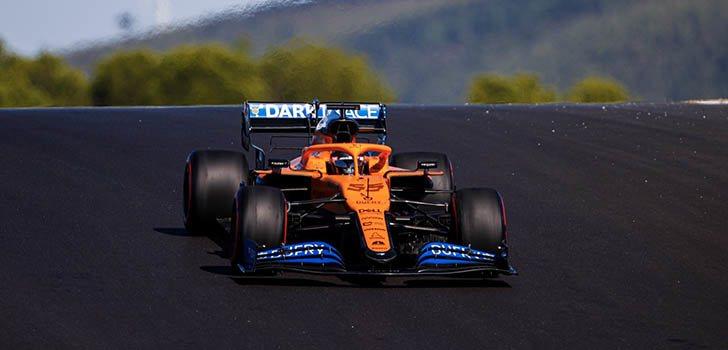 Carlos Sainz confía en sus posibilidades en la carrera de mañana en Portimao