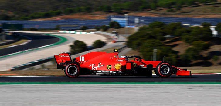 Charles Leclerc, emocionado por el resultado en la clasificación de Portimao