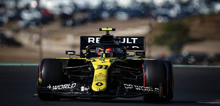 Daniel Ricciardo, descontento con el ritmo de su coche en la clasificación de Portimao