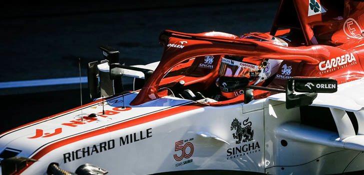 Kimi Räikkönen, frustrado por no llegar a Q2 en la clasificación de Portimao