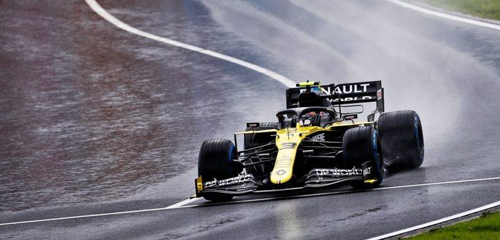 Ricciardo, en el GP de Turquía 2020