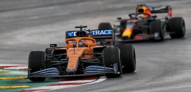Sainz, por delante de Verstappen en Turquía