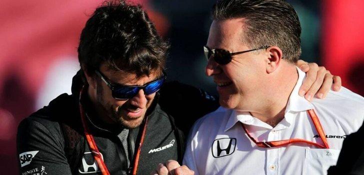 Alonso y Brown, juntos en McLaren