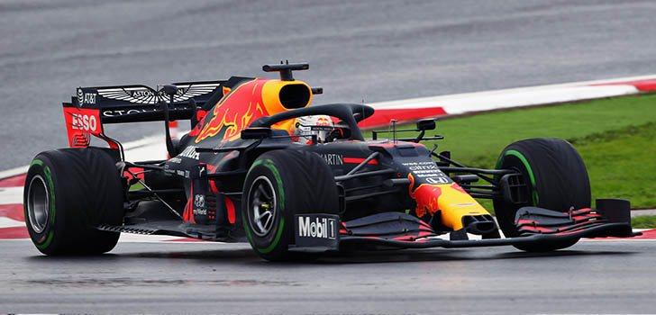 Max Verstappen, decepcionado con el final de Estambul