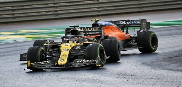 Ricciardo, por delante de Norris en Turquía