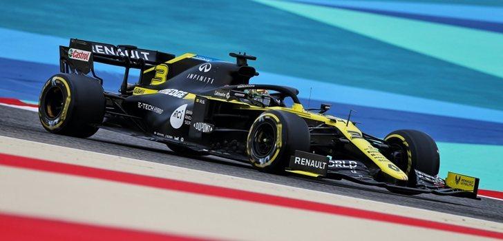 Ricciardo, en los Libres de Baréin