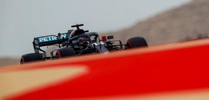 Hamilton, en los Libres 3 del GP de Baréin