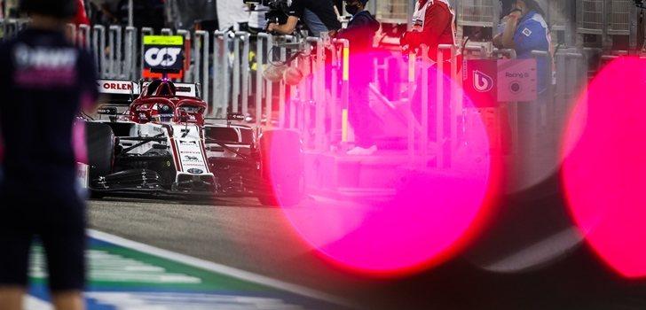 Räikkönen, en el GP de Baréin 2020