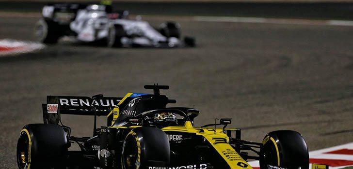 Renault busca puntuar con ambos coches en Sakhir