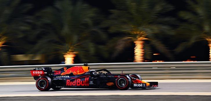 Max Verstappen se ha quedado a nada de la pole en Sakhir