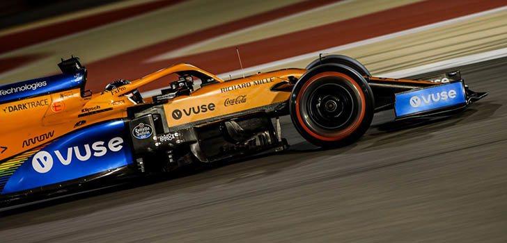 Carlos Sainz, esperaba más de la clasificación en Sakhir