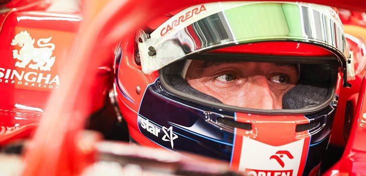 Robert Kubica, al volante del C39 de nuevo en este 2020