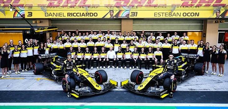 Daniel Ricciardo termina la etapa con Renault con buena nota