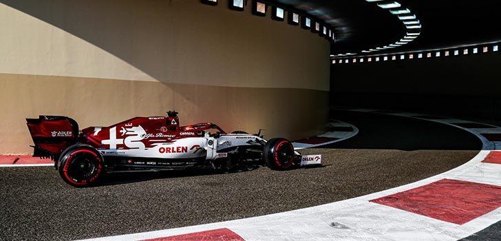 Kimi Räikkönen, frustrado con el resultado en 2020