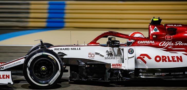 Antonio Giovinazzi, satisfecho con su evolución en Alfa Romeo