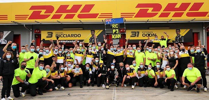 Cyril Abiteboul destaca el buen paso de Ricciardo por Renault