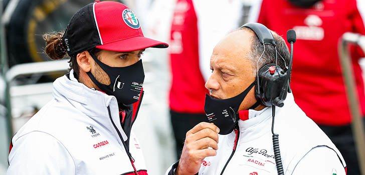 Antonio Giovinazzi puede tomar el relevo de Räikkönen en Alfa Romeo