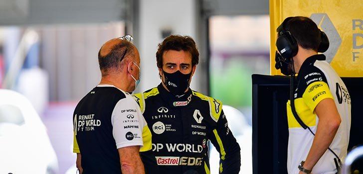 Laurent Rossi, encantado de contar con Fernando Alonso en Alpine