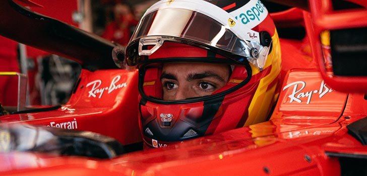 Carlos Sainz y Ferrari miran más a 2022 que a 2021