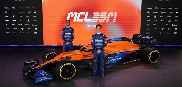 Lando Norris, concentrado en su nuevo rol dentro de McLaren F1