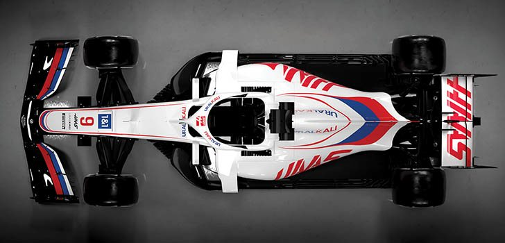 Haas presenta su monoplaza para 2021: el VF-21 - F1 al día