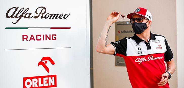Kimi Räikkönen no piensa en el futuro, solo en el presente