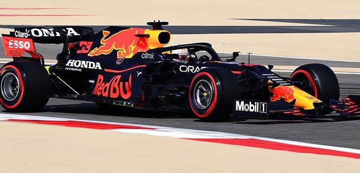 Red Bull ha comenzado con fuerza en esta primera jornada del GP de Baréin 2021