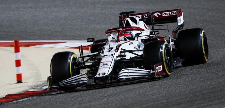 Räikkönen, en el GP de Baréin 2021