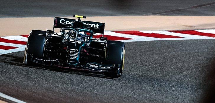 Vettel, en el GP de Baréin 2021