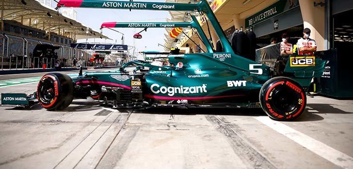 En Aston Martin confían en mejorar gracias a los componentes de Mercedes
