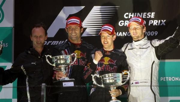 Victoria de Vettel y doblete para Red Bull en Shanghai