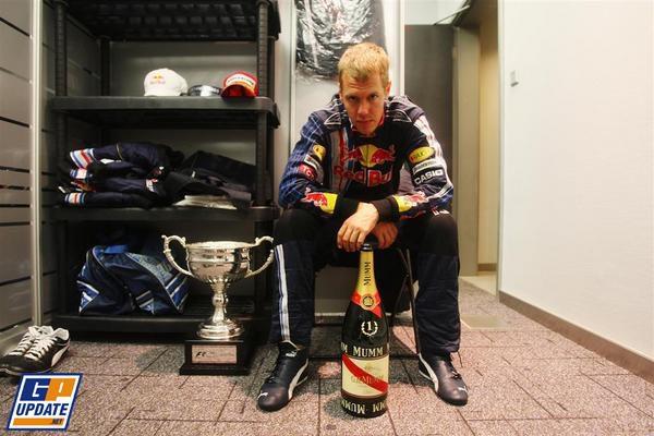 Vettel y Webber hacen historia