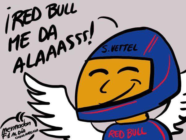 La viñeta (34): 'Red Bull me da alaaasss'