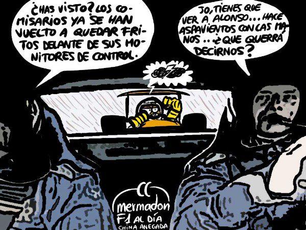 La viñeta (36): 'Alonso desesperado'