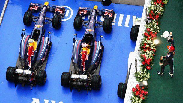 Vettel no se mueve de Red Bull