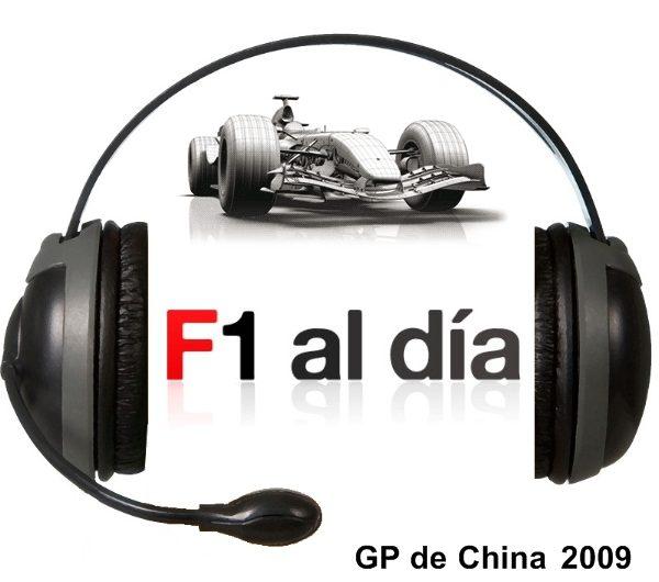 F1 al día Podcast: 01x03 - GP de China 2009